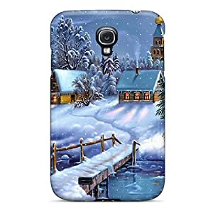 Tpu Case For Galaxy S4 With Christmas Time