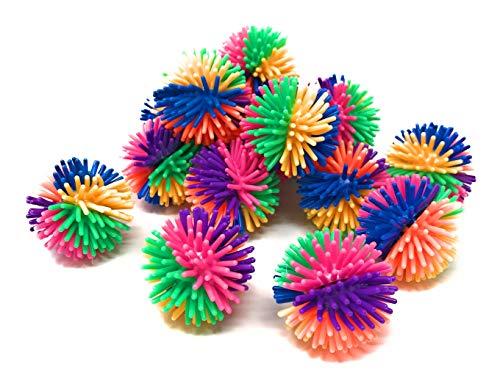 Sea View Treasures Bulk 50 Pack 6-Color Porcupine Ball Assortment - 1.25