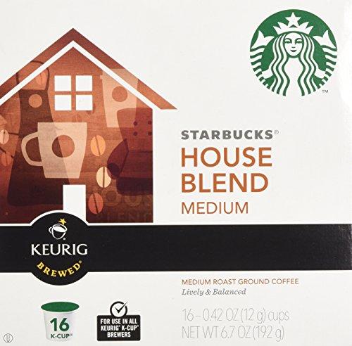 Starbucks House Blend Medium Roast Coffee Keurig K-Cups
