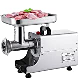 Happybuy 0.33HP/250W Meat Grinder Stainless Steel 170 RPM Electric Meat Grinder Commercial Sausage Stuffer Maker Maker for Industrial and Home Use(250W TK-8)