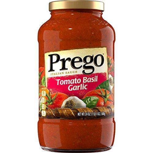 Prego Italian Pasta Sauce, Tomato Basil Garlic, 24 Ounc