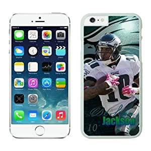 Philadelphia Eagles DeSean Jackson1 Case Cover For Apple Iphone 6 4.7 Inch NFL Cases White NIC14361