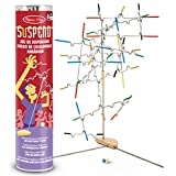 Melissa & Doug Suspend Family Game, Classic Games, Exciting Balancing Game, Develops Hand-Eye Coordination, 31.75 cm H x 7.112 cm W x 7.112 cm L