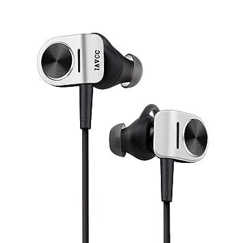 Auriculares Bluetooth, IAVCC Bluetooth 4.1 In-Ear Cascos Deportivos Inalámbricos a Prueba de Sudor