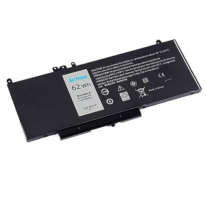 ZWXJ Laptop Battery Type 6MT4T 7.6V 62Wh for Dell Latitude E5470 E5570 Precision 3510 0HK6DV 079Vrk 79Vrk TXF9M 0TXF9M Notebook 15.6