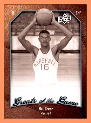2009-10 Greats of the Game #31 Hal Greer MARSHALL