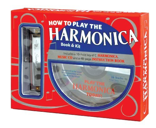 How To Play The Harmonica Book And Kit by David HARP (How To Play Harmonica)