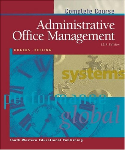 Administrative Office Management -