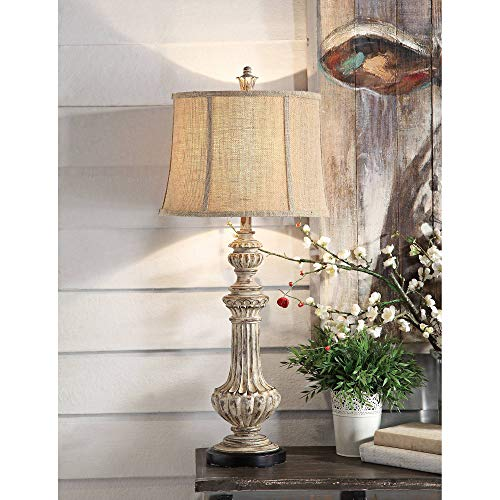Crestview Collection Cameron Antique Wood Table Lamp from Crestview Collection