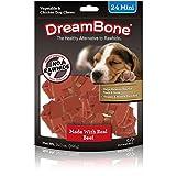DreamBone DBB-02442 Mini Chews With Real Beef 24