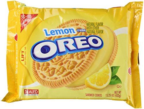 Lemon Flavor Creme Filled Oreos 2014 - Sandwich Oreo