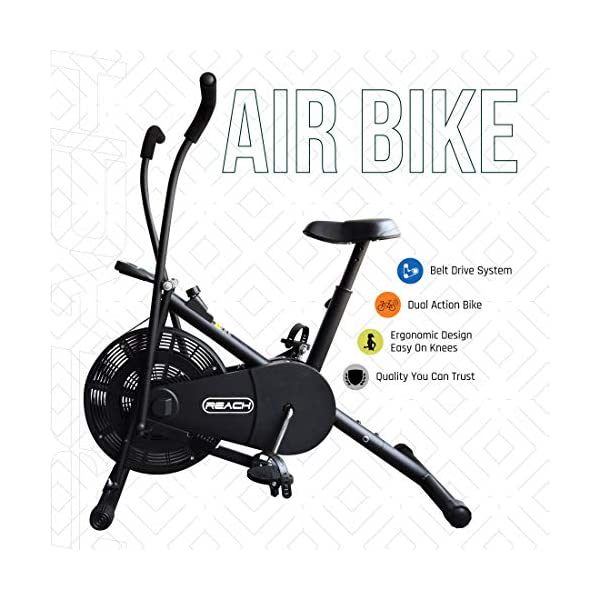 Best Air Bike Fitness Exercise Gym Cycle India 2020
