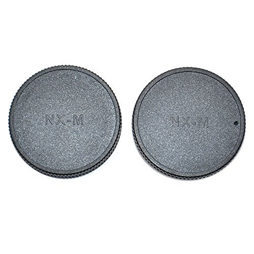 JJC L-R17 Body Cap and Rear Lens Cap for SAMSUNG NX-MINI Mount Lens and Camera