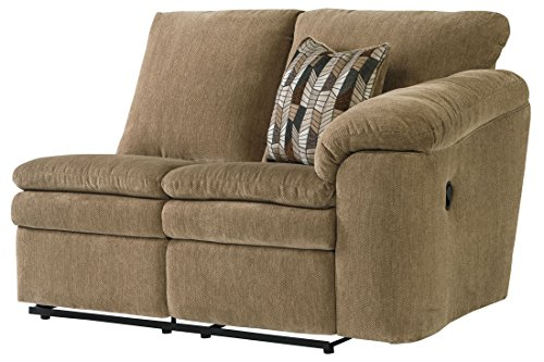Signature Design by Ashley Coats Right Arm Facing Reclining Loveseat, Dune