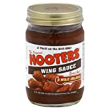 Hooters Wing Sauce, 3 Mile Island, 12 Ounce (Pack of 6)