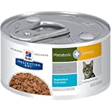 Cheap Hill's Prescription Diet Metabolic Weight + Urinary Care Tuna & Vegetable Stew Canned Cat Food 24/2.9 oz