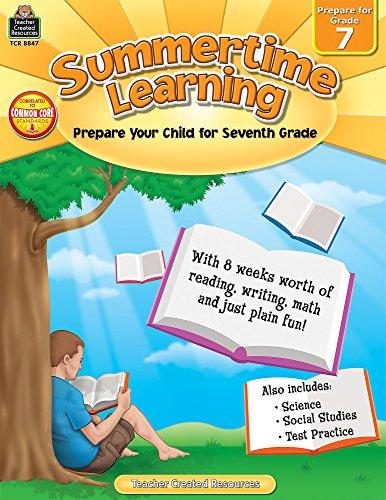 Summertime Learning Grd 7