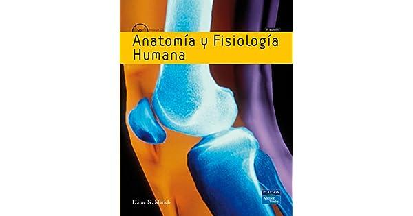 Anatomia Y Fisiologia Humana: Marieb: Amazon.com.mx: Libros