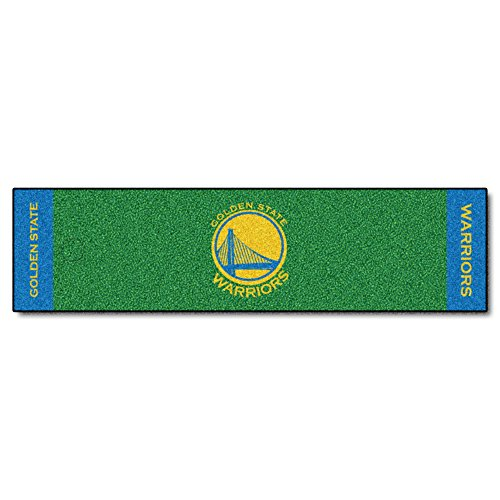Fanmats NBA Golden State Warriors Nylon Face Putting Green Mat by Fanmats