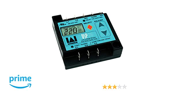DiversiTech DSP-1 Corporation Digital Single Phase Line Voltage Monitor