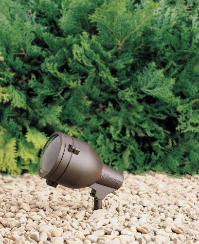 Kichler 15241AZT One Light Accent (Textured Architectural Bronze Line)