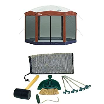 Coleman 12 x 10 Instant Screened Canopy and Coleman Tent Kit  sc 1 st  Amazon.com & Amazon.com: Coleman 12 x 10 Instant Screened Canopy and Coleman ...