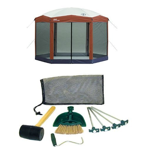 Coleman 12 x 10 Instant Screened Canopy and Coleman Tent Kit by Coleman (Image #1)