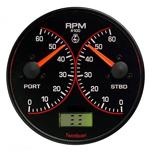 FloScan Twinscan 0-8000 RPM Tachometer