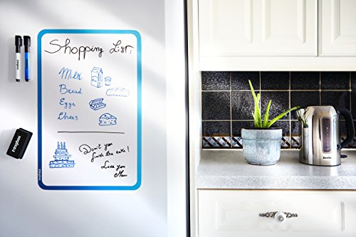Dry Erase Magnetic Whiteboard for Fridge by Magbox - 11