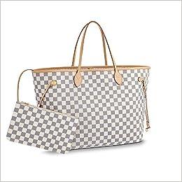 6991b40b35ed Neverfull Style Canvas Woman Organizer Handbag Azur Tote Shoulder Fashion  Bag GM Size by LAMB: 0768444499612: Amazon.com: Books
