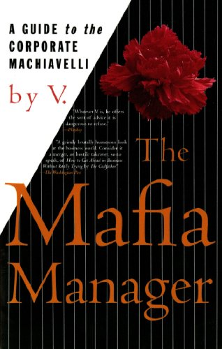 The Mafia Manager : A Guide to the Corporate Machiavelli (Funny Jokes In English For School Magazine)