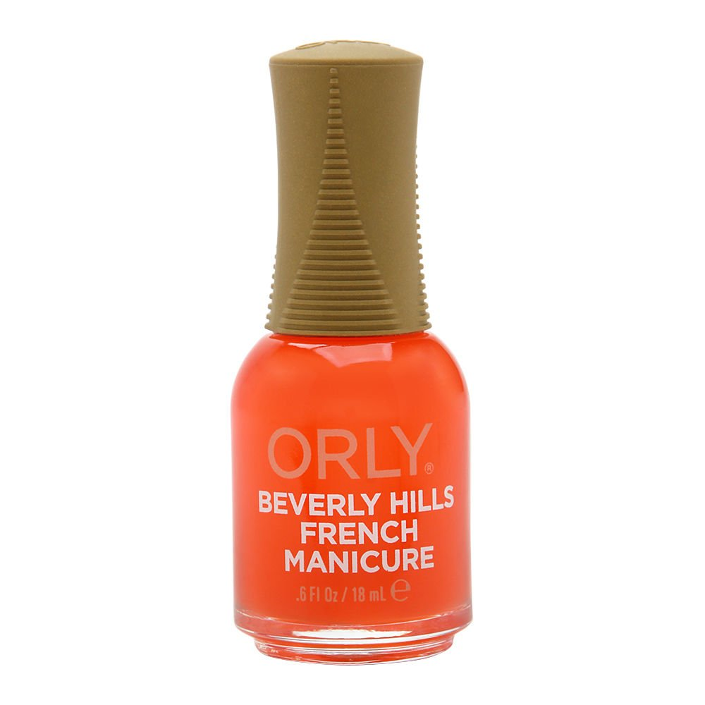 Amazon.com : Orly Nail Lacquer French Man, Bare Rose, 0.6 Fluid ...