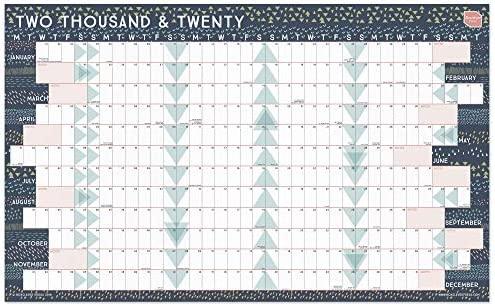 Calendario 2020 de Boxclever Press. Formato lineal ...
