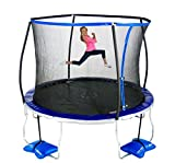 TruJump 10' Trampoline with Steel Enclosure Ring