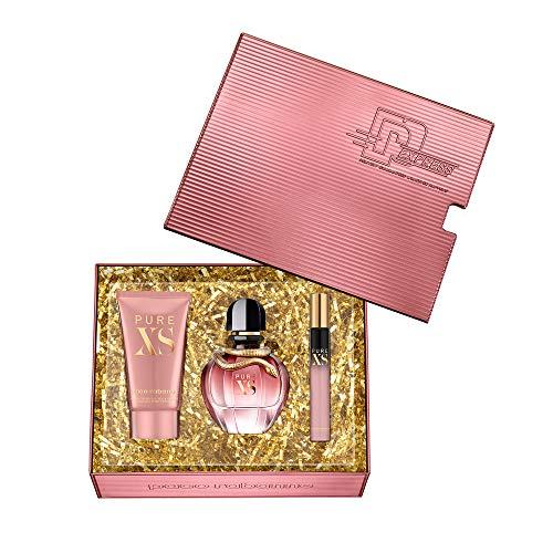 Paco-Rabanne-PURE-XS-Pour-Femme-2019-Coffret-50ml-Eau-de-Parfum-10ml-EDP-75ml-Lotion-Pour-Le-Corps