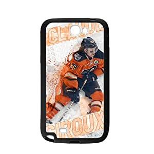 Custom Durable Silicone Personalized NHL Philadelphia Flyers Claude Giroux Samsung Galaxy Note 2 Case