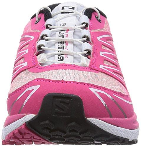 Salomon Sense Manatra 3 - Zapatillas de correr en montaña Mujer Rosa (hot pink/white/black)
