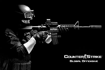 "Counter Strike Global Ofensiva Sony Playstation 3 PS3 XBOX 360 – (16 ""x"