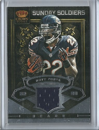 2012 Crown Royale Matt Forte Sunday Soldiers Jersey 51/99 #14 Chicago Bears by Crown Royale