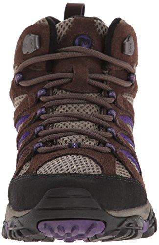 Women's Merrell bracken 5 Mid purple Ventilator Hiking Us Boot Moab M 6 4q7Ow7xdyg