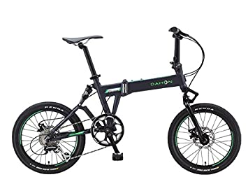 Dahon jetstream P8-Bicicleta plegable, color Gris mate