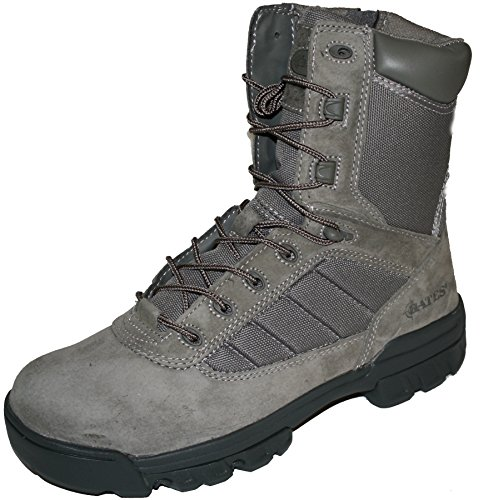 Mens 8 Inch Sport Boot - Bates Men's Ultra-Lites 8 Inches Tactical Sport Side Zip Work Boot,Sage,8 EW US
