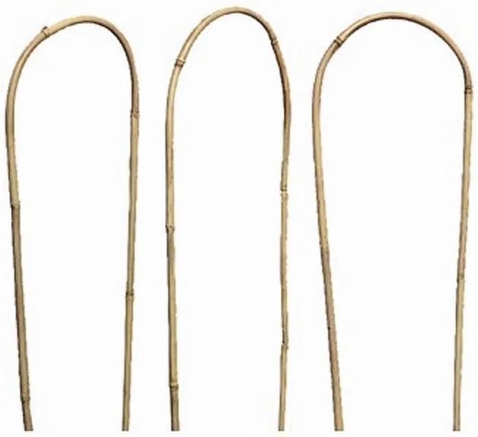 Gardman 7391 Natural Bamboo Hoops Brown 90cm