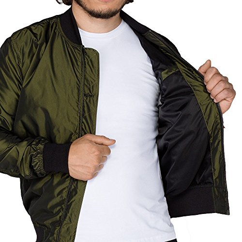 ALPHA Industries - Jacke MA-1 LW Iridium 176108 - dark green