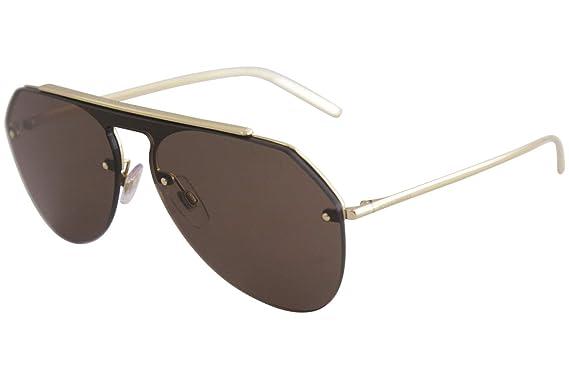 e71d5e9b1b8 Amazon.com  Dolce and Gabbana DG2213 26696 Gold DG2213 Pilot ...