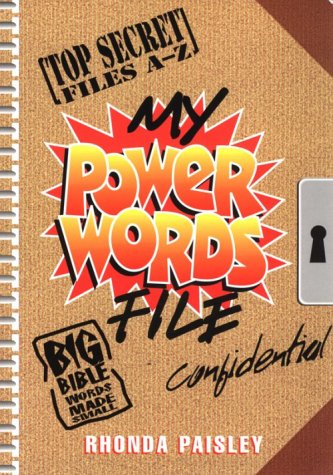Read Online My Power Words File PDF