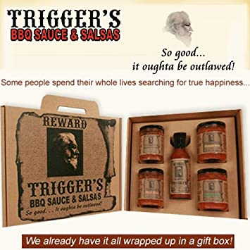 Triggers Gourmet BBQ Sauce & Salsa ...