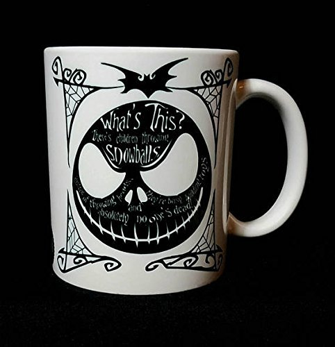 Nightmare Before Christmas, Jack Skellington inspired 11oz coffee mug, 15oz, coffee mug, tea cup, (Mad Hatter Inspired Outfit)