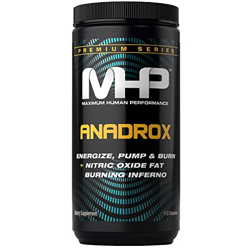 MHP Anadrox Pump & Burn, Nitric Oxide Fat Burning Inferno, 112 capsules