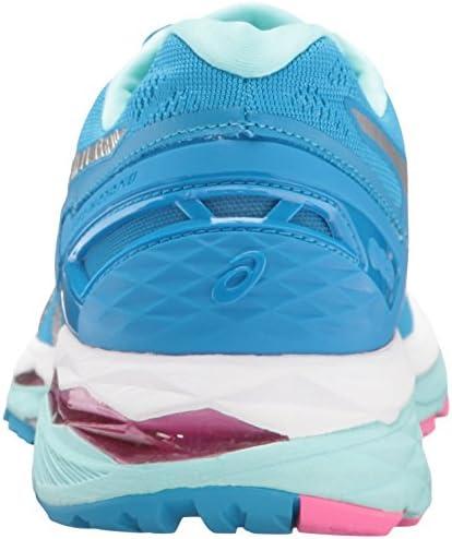 Asics Gel-Kayano 23Damen-Laufschuh, Blau - Diva Blue/Silver/Aqua Splash - Größe: 42 EU B/Medium